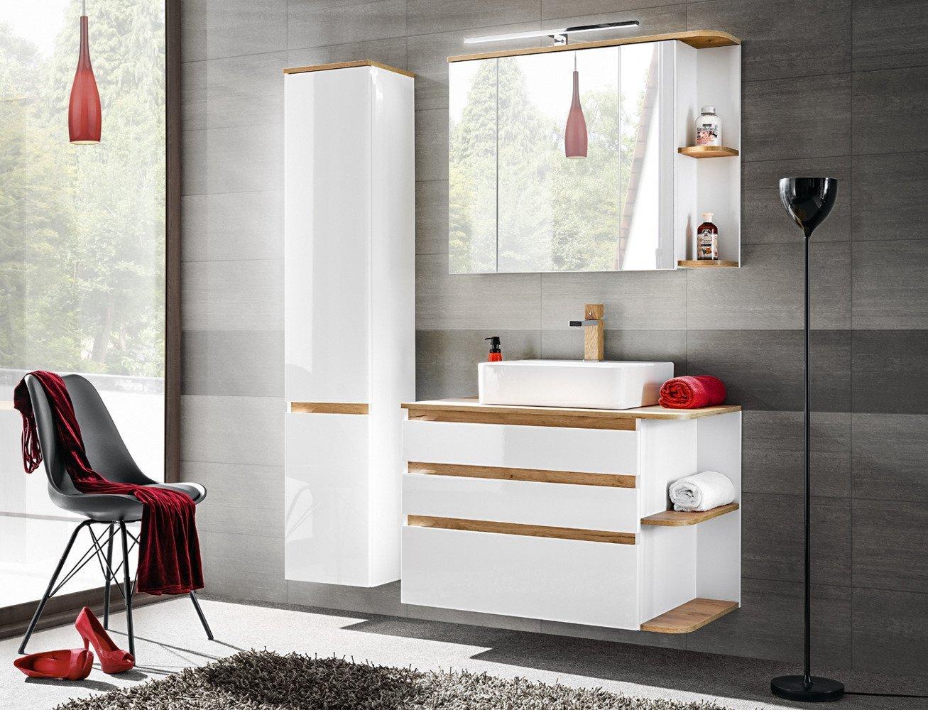 Szafka łazienkowa Pod Umywalkę 90 Cm Platinum Asortyment Meble