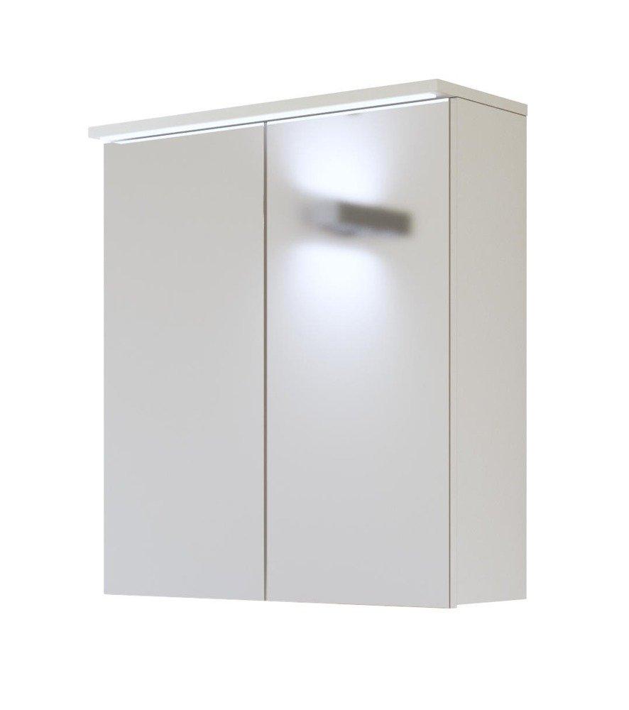 Szafka Z Lustrem I Oświetleniem Led 60cm Galaxy White