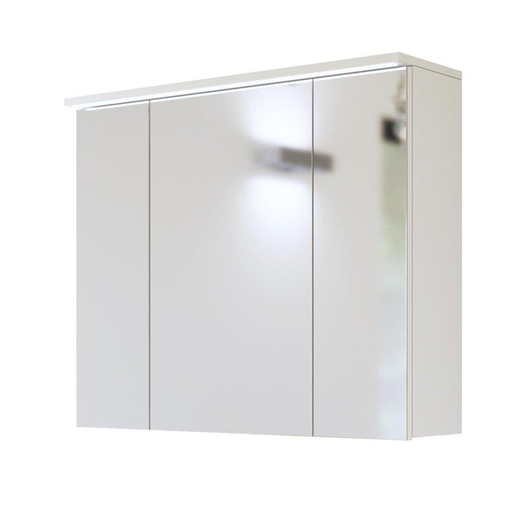 Szafka Z Lustrem I Oświetleniem Led 80cm Galaxy White