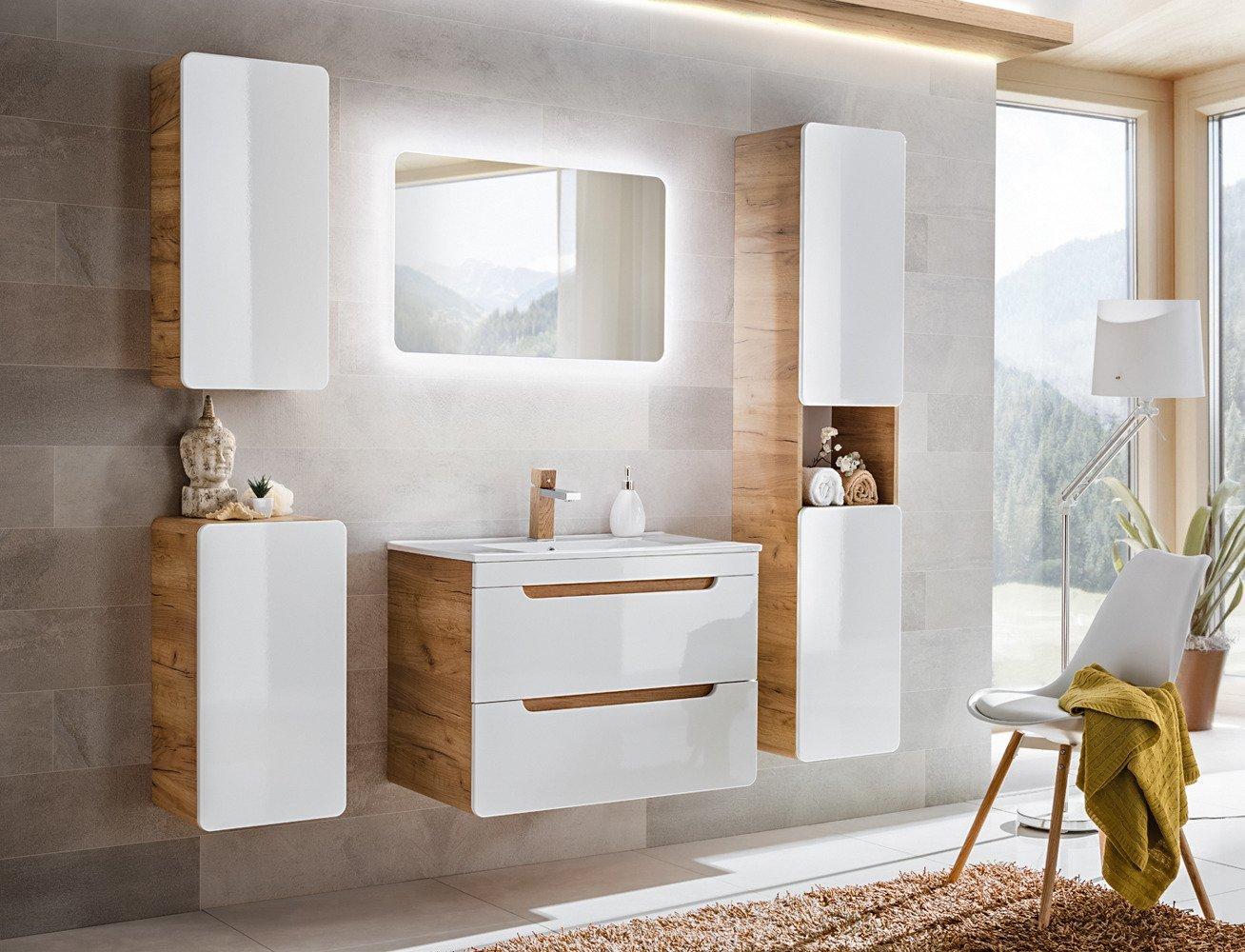 Zestaw Mebli łazienkowych Aruba Asortyment Meble